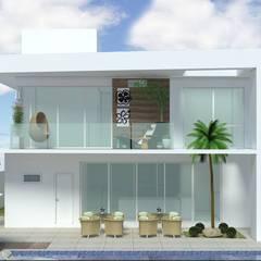 Terraço: Terraços  por Andréa Generoso - Arquitetura e Construção