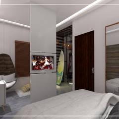 Projeto Arquitetônico Bangalôs : Hotéis  por Pinus Arquitetura