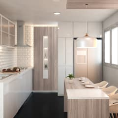 Built-in kitchens by Mauriola Arquitectos