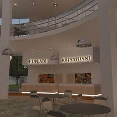 Commercial Spaces توسطGurooji Designs, مدرن