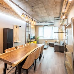 industrial Study/office by 더디자인 the dsgn