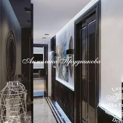 Дизайн-проект интерьера квартиры в ЖК «Фили Град»: Коридор и прихожая в . Автор – Дизайн-студия элитных интерьеров Анжелики Прудниковой