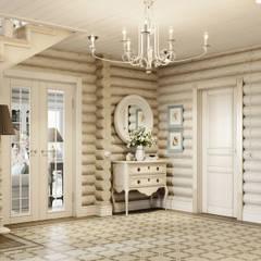 Corridor and hallway by EJ Studio