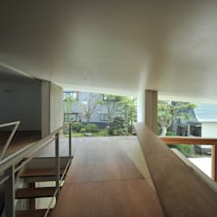 Suelos de estilo  por Takeru Shoji Architects.Co.,Ltd