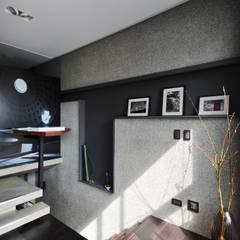 جدران تنفيذ 黃耀德建築師事務所  Adermark Design Studio