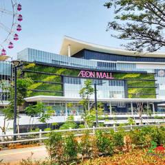 Centros comerciales de estilo  de PT. Kampung Flora Cipta