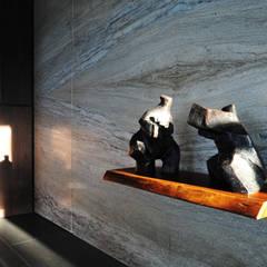 Walls by 黃耀德建築師事務所  Adermark Design Studio,