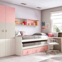 30 Mẫu Phòng Ngủ Cho Bé Gái Đẹp Được Yêu Thích Nhất Năm 2018: asiatische Schlafzimmer von Công ty thiết kế xây dựng Song Phát