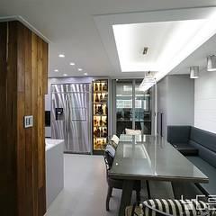 modern Dining room by 남다른디자인