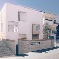 Casa AMJ: Casas unifamilares de estilo  de meeec arquitectos