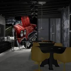 industrial Wine cellar by Designer Paula Daiane dos Santhos