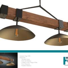 บันได by HRG Diseño & Taller