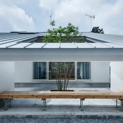 minimalistic Garden by 吉田裕一建築設計事務所