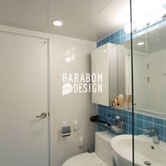 마장동 중앙하이츠: 바라봄디자인의  욕실