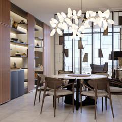 DEPARTAMENTO MUESTRA TORRE AMALFI: Hoteles de estilo  por CUARTO BLANCO