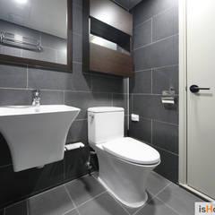 신혼집 꾸미기 30평 김포아파트 인테리어: 이즈홈의  욕실,미니멀