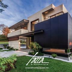 Residencia Colón: Casas unifamiliares de estilo  por Lazza Arquitectos