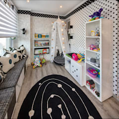 Children's Bedrooms : eclectic Nursery/kid's room by Spegash Interiors