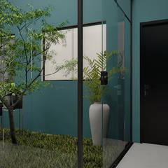 Anexos de estilo ecléctico por THACO. Arquitetura e Ambientes