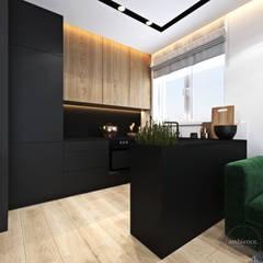 Mieszkanie z zielonym akcentem: styl , w kategorii Kuchnia zaprojektowany przez Ambience. Interior Design