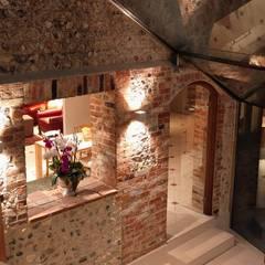 Glazed Extension:  Stairs by Pfeiffer Design Ltd