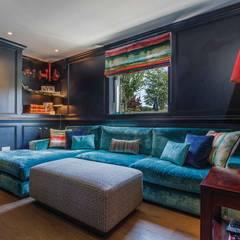 Glazed Extension:  Media room by Pfeiffer Design Ltd