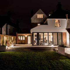 Elegant Extension:  Houses by Pfeiffer Design Ltd,