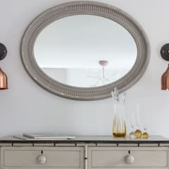 Rural Retreat:  Dressing room by Pfeiffer Design Ltd