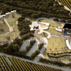 Plan maestro: Jardines de estilo  por Stuen Arquitectos