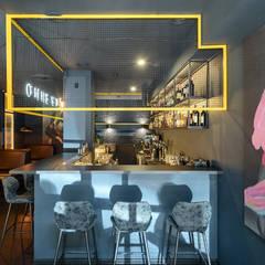 Идеи оформления барной стойки кальян-бара: Бары и клубы в . Автор – Art-i-Chok