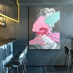 Воплощение арт-идеи дизайна интерьера кальянной ART HOUSE: Бары и клубы в . Автор – Art-i-Chok