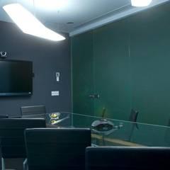 Corporativo Andares: Estudios y oficinas de estilo  por TaAG Arquitectura