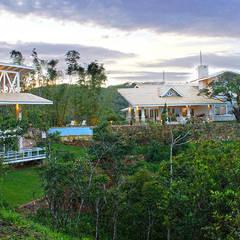 Casa de serra - Guamiranga CE: Casas do campo e fazendas  por RI Arquitetura