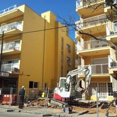 Durante las obras: Hoteles de estilo  de Diego Cuttone - Arquitecto