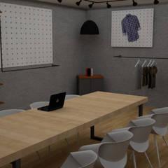 Showroom Litoral Surf: Lojas e imóveis comerciais  por i4ARCH