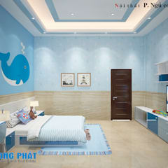Baby room by Công ty thiết kế xây dựng Song Phát