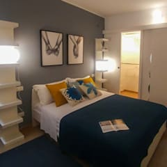 Bedroom by Creattiva Home ReDesigner  - Consulente d'immagine immobiliare