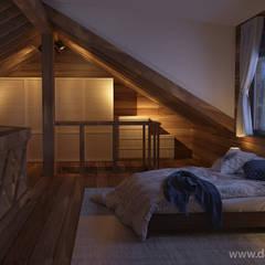 ห้องนอน by студия Design3F