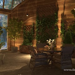 Conservatory by студия Design3F