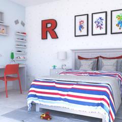 Recamara R : Recámaras para niños de estilo  por FLORS