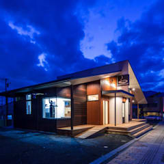 Restaurants de style  par KOBAYASHI ARCHITECTS STUDIO