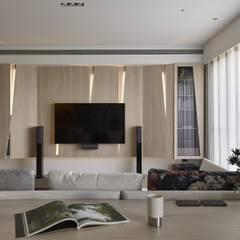 Living room by 禾光室內裝修設計 ─ Her Guang Design, Modern
