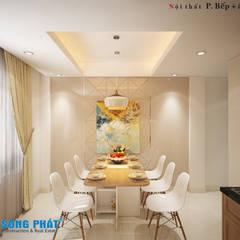 : asiatische Küche von Công ty thiết kế xây dựng Song Phát