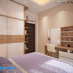 :  Schlafzimmer von Công ty thiết kế xây dựng Song Phát