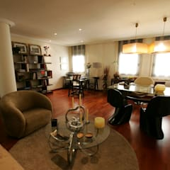 Sala principal de diseño: Oficinas y Tiendas de estilo  de CONSUELO TORRES Proyectos Globales de Interiorismo