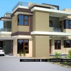 4 BHK VILLA: modern  by Gill Architects/Engineers,Modern