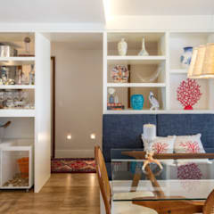 Hampton's Style: Salas de jantar tropicais por Rê Freitas