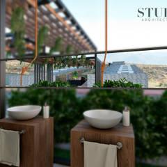 Banos: Baños de estilo  por Stuen Arquitectos
