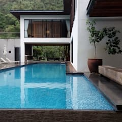 上群休閒水藝開發有限公司が手掛けた家庭用プール