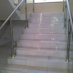 New Build:  Stairs by Ndiweni Architecture